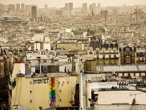 My favourite view of Paris, taken shortly after Christmas and my final photo of 2012. Love the depth and detail of this city.