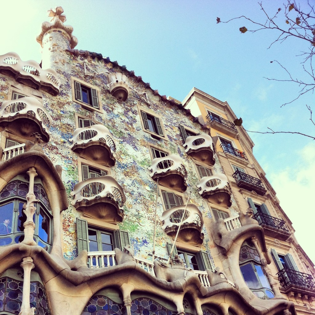 Gaudi, Gaudi everywhere!