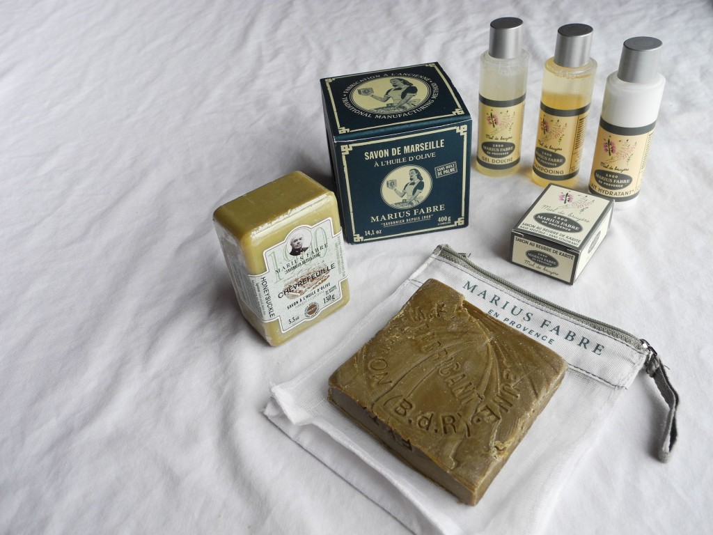 marius fabre soap collection