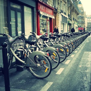 velib bike rental paris