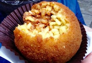 arancini: a must-eat in Palermo